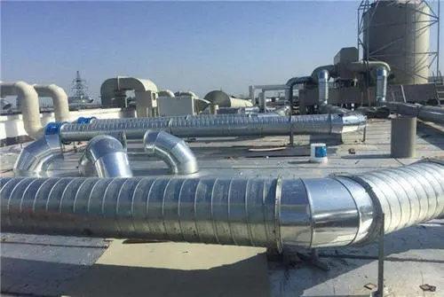 成都风管加工过程中应该注意哪些问题呢?