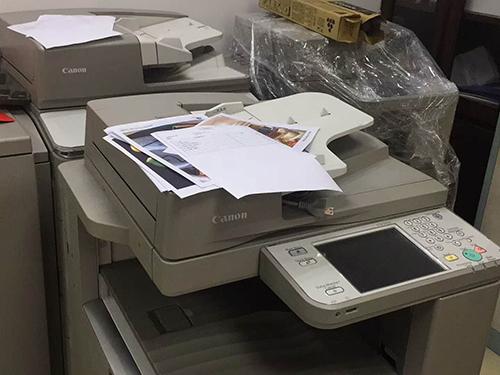 成都打印机租赁公司企业相册