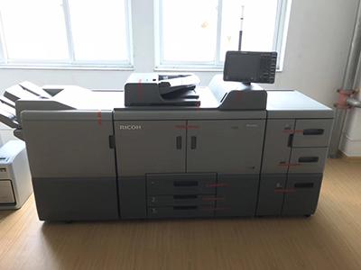 高新区打印机租赁-理光8110