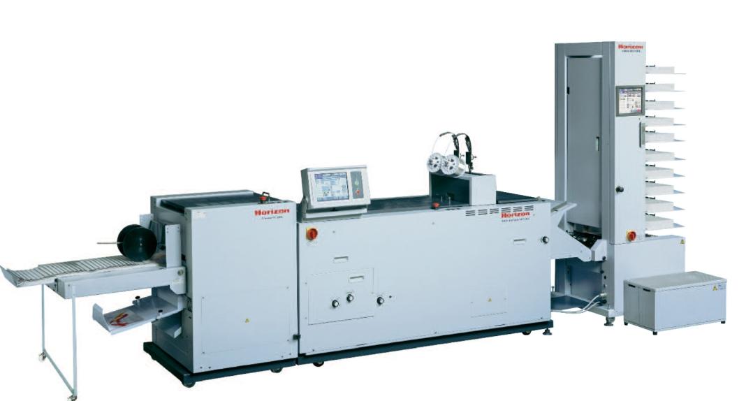 日本好利用 Horizon SPF-200L全自动订折机