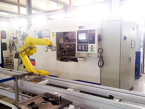 四川自动车床生产线合作案例