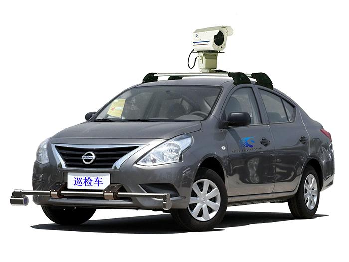 顶置车载甲烷激光遥感探测仪