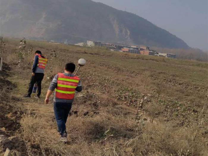 黄石昆仑投城燃气管道探测工程2