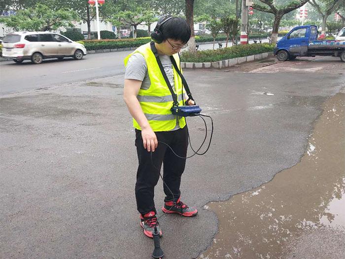 杭州萧山燃气管道探测工程