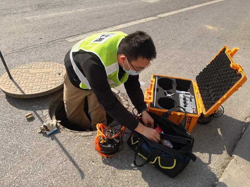 燃气PE管道探测定位仪GPPL助力镇平燃气公司管道巡检工作顺利进行!