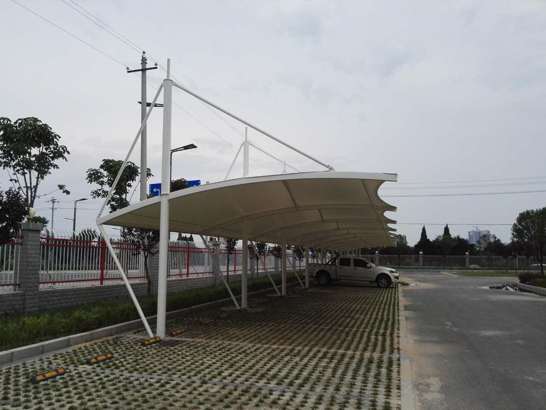 礼泉东方雨虹膜结构汽车棚