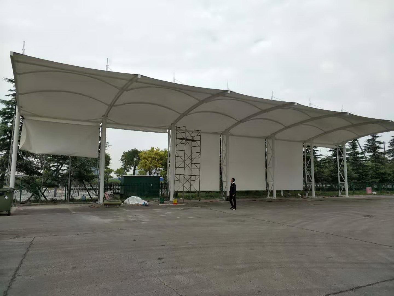高新保税区三星电子厂货车车棚