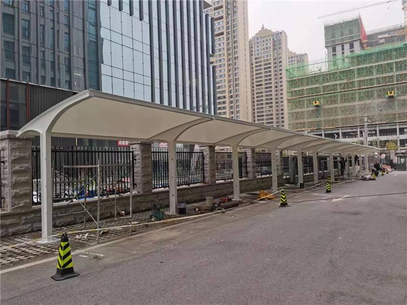 曲江新闻传媒大厦自行车棚