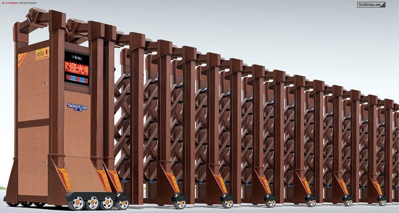 为什么许多厂家使用电动伸缩门?它的用途有哪些呢?