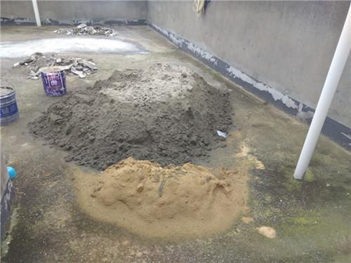 西安沙子水泥施工