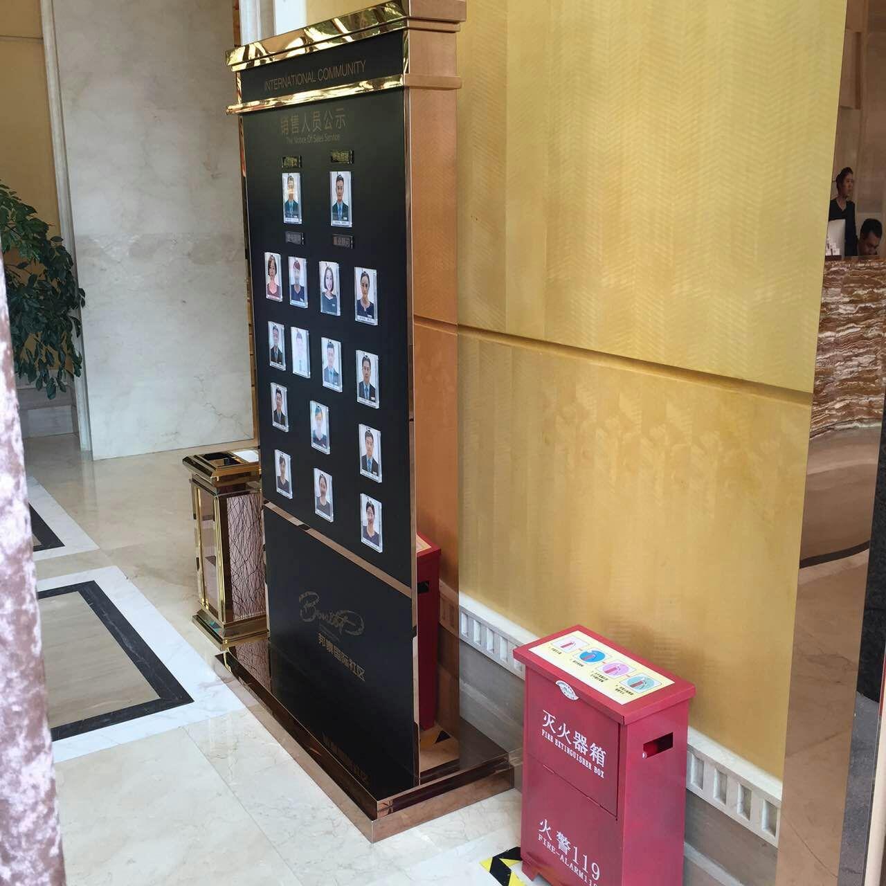 邦泰社区销售中心——四川房地产标识标牌成功案例