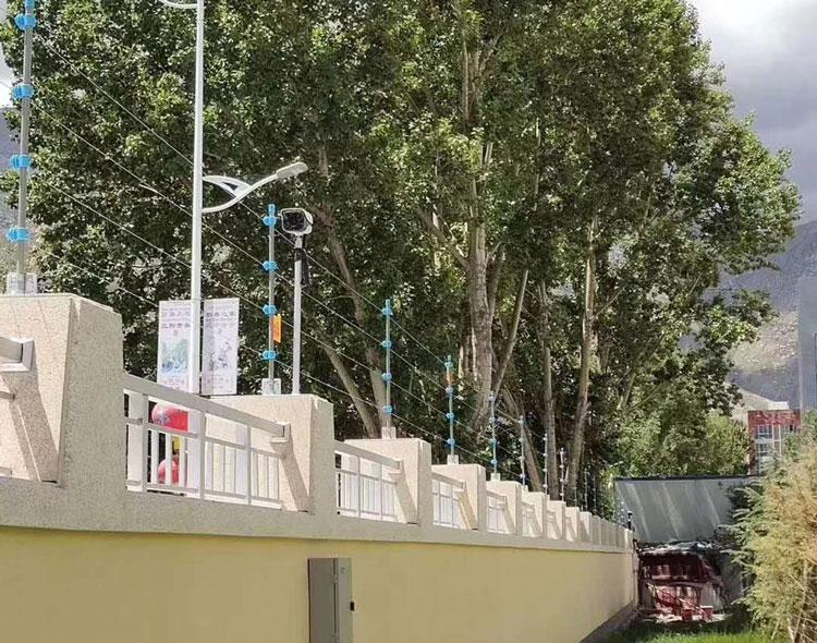 渠县水厂防盗系统电子围栏