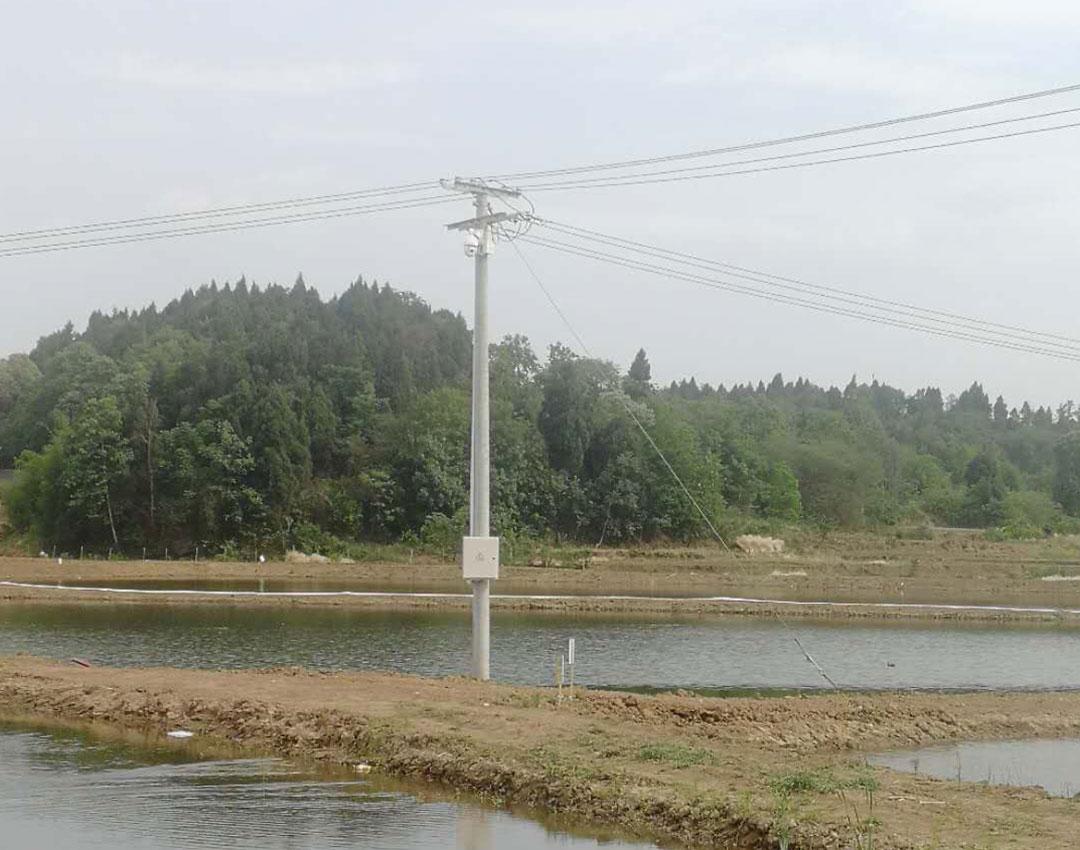 中江渔塘监控系统安装