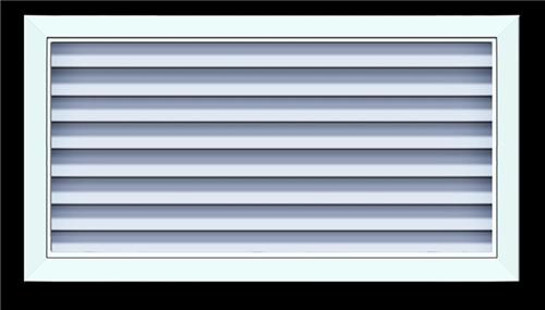 新疆铝合金百叶窗-防水百叶风口