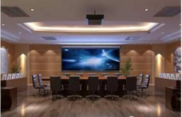 保密会议室大厅