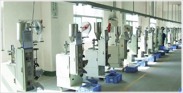 佳龙干燥剂生产车间