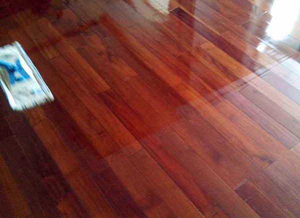 家庭地板打蜡