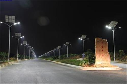 西昌太阳能路灯施工