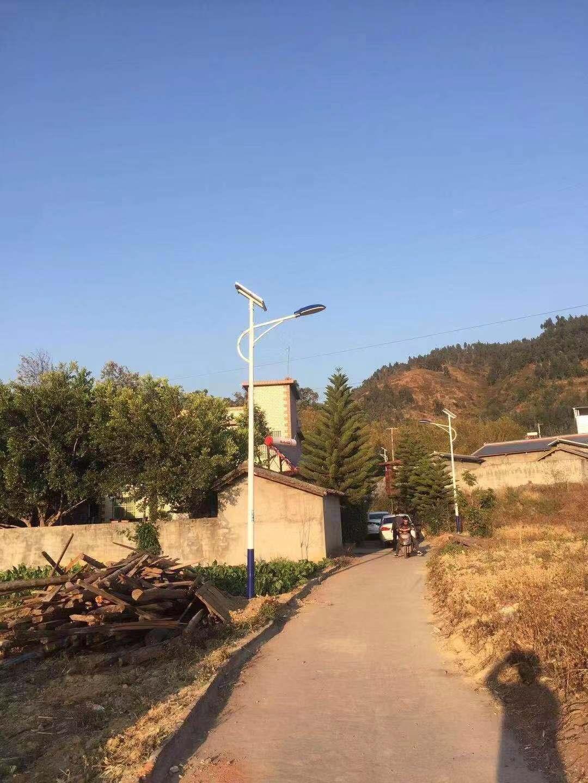 西昌太阳能路灯-四合乡