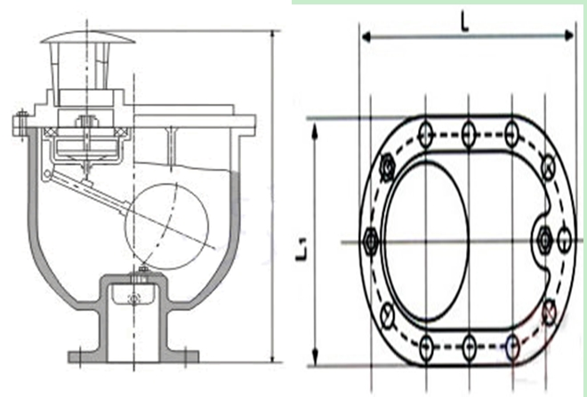 CARX复合式排气阀结构图
