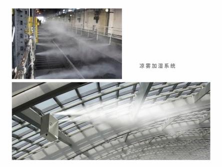 工业厂房加湿降温系统