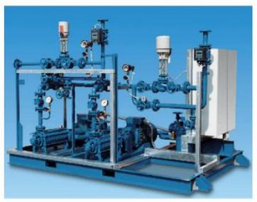 烟气冷却系统降温及脱硫脱硝设备