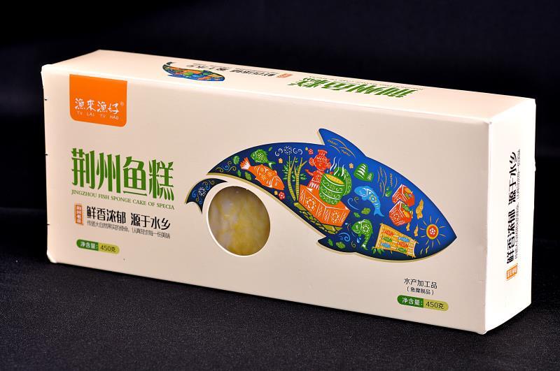 荆州鱼糕常温条盒450g
