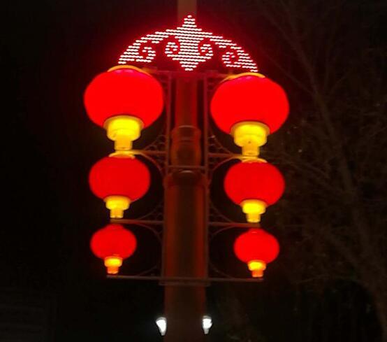 户外LED塑料灯笼