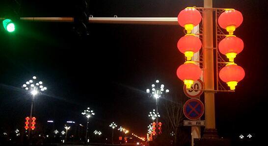 LED路灯照明安装案例