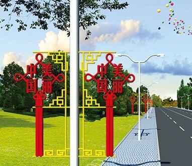 内蒙古LED中国结安装