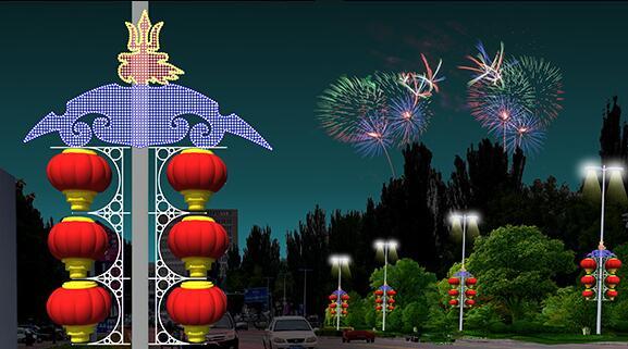 LED中国结和led灯笼的照明范围有多少
