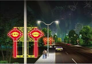 内蒙古LED中国结(可租、可售)