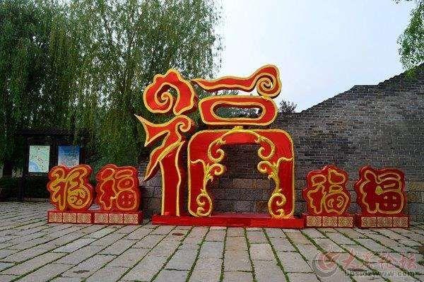 青海灯笼厂家为您带来节日美陈案例