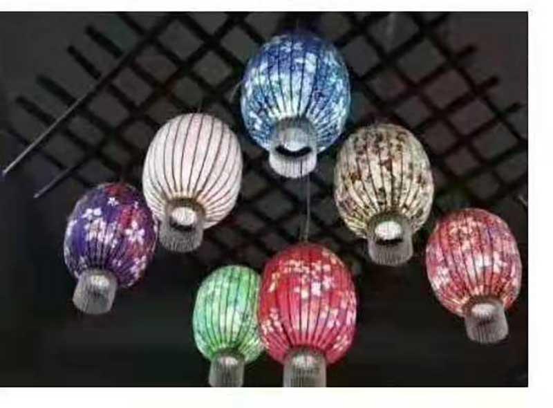 国庆花篮厂家为您带来传统宫灯案例