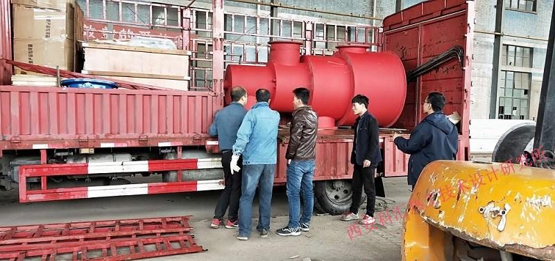科汇热工技术研究所热风炉燃烧器制作车间