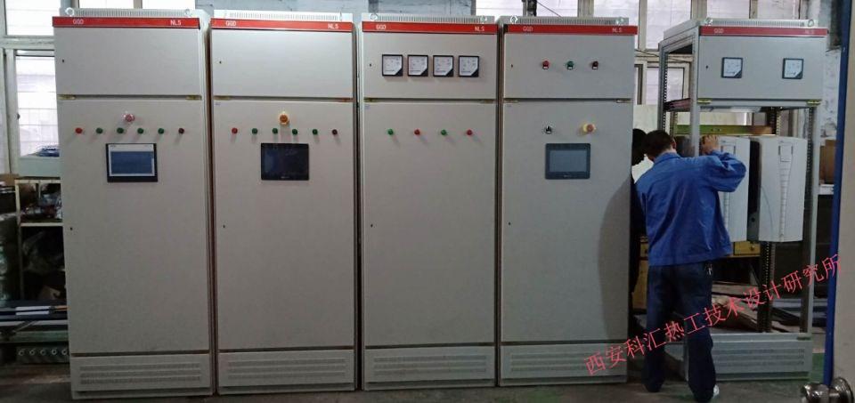 科汇热工研究所燃烧控制系统控制柜制作现场