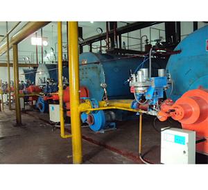 4台燃焦炉煤气燃烧器及燃烧控制