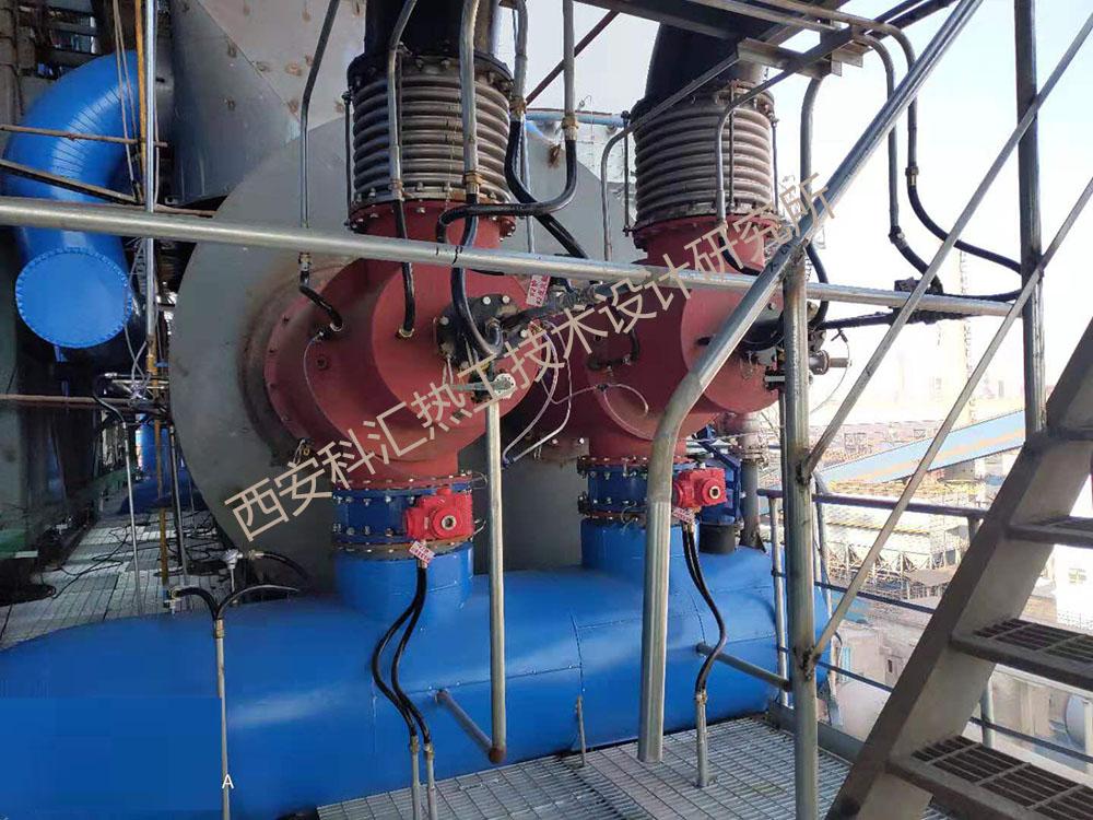 日照钢铁脱硝项目热风炉燃烧控制系统