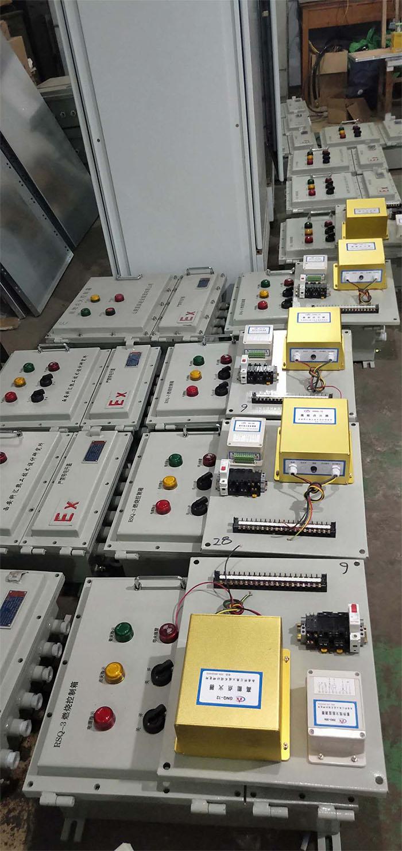科汇热工研究所工厂一角、高能点火器展示