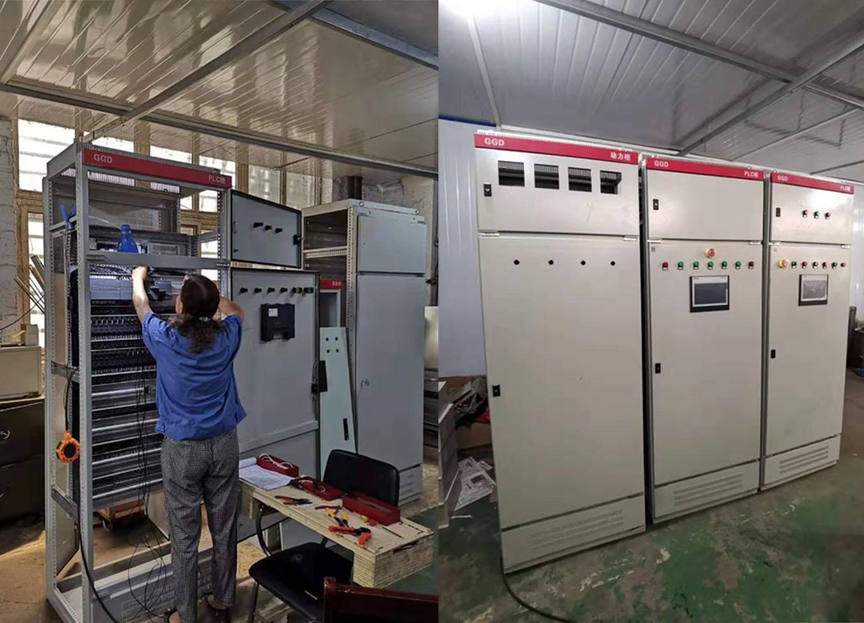 热风炉系统PLC控制柜