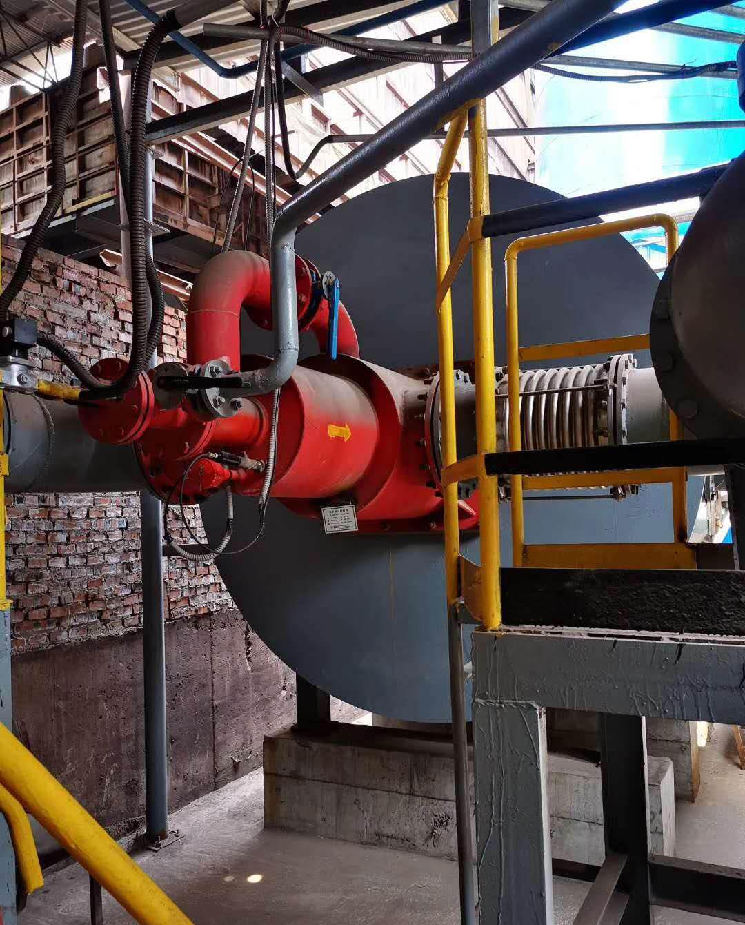 安阳钢厂烧结机脱销燃烧器点火控制系统