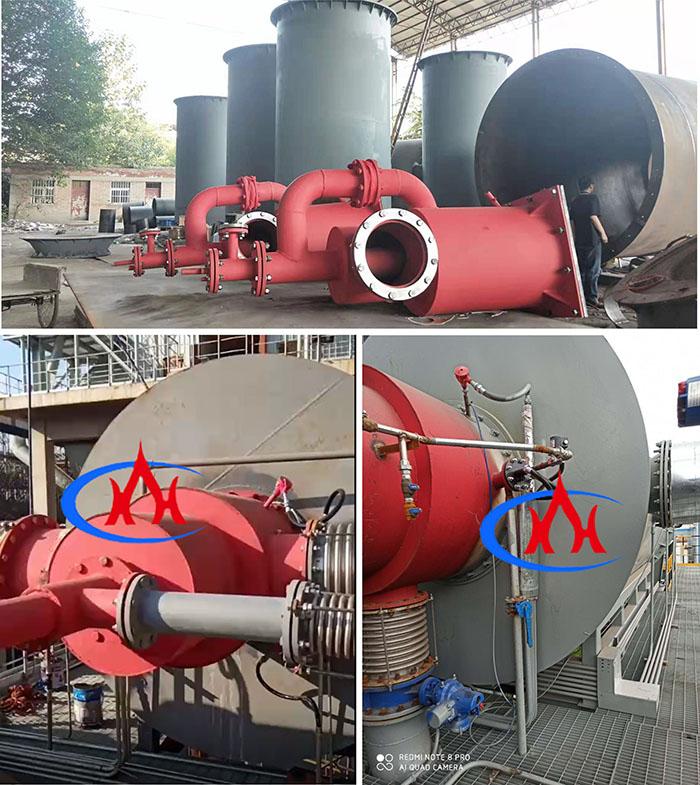 高炉煤气燃烧器  热风炉控制系统