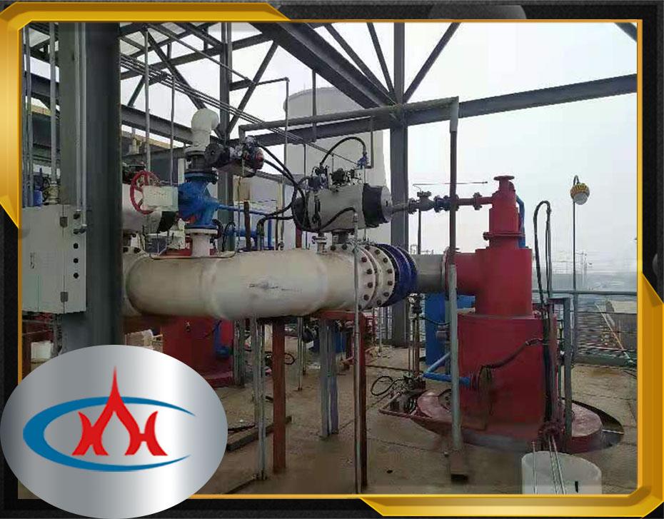 氯化法钛白粉装置尾气燃烧器及处理系统