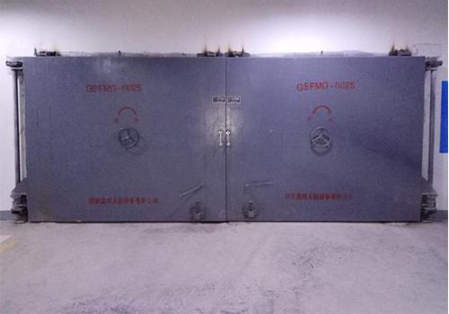 连通口双向受力双扇防护密闭门