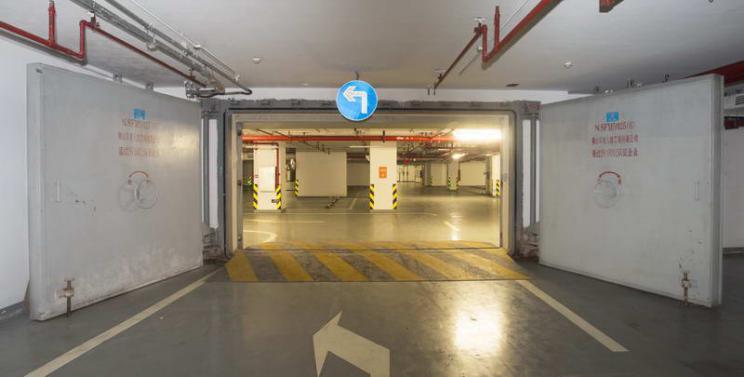 坡道内开式双扇防护密闭门