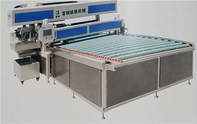 基于PLC伺服定位控制的玻璃四边磨系统