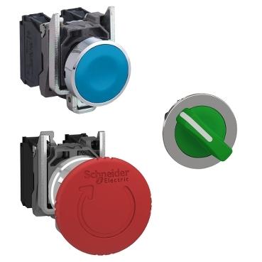 施耐德22 进口金属按钮指示灯系列