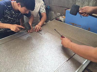 成都内钢外铝玻璃隔断企业相册