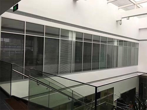 双层玻璃百叶隔断厂家