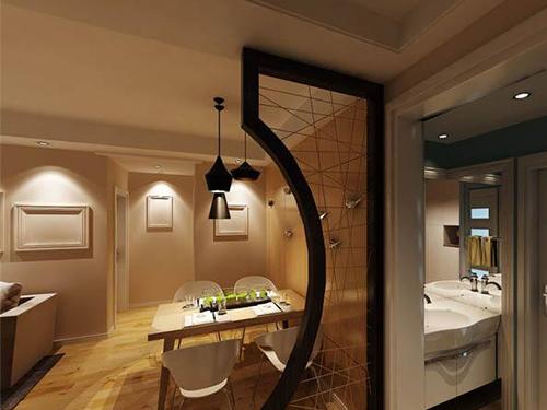 玻璃隔断,让餐厅后厨线上看得见